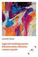Saggio sulla metodologia operativa della pittura acrilica e della pittura a tempera a gouache - Falzone Leonardo