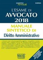 L'Esame orale di Avvocato 2018 - Manuale sintetico di Diritto Amministrativo - Redazioni Edizioni Simone