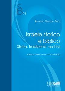 Copertina di 'Israele storico e biblico'