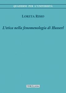 Copertina di 'Etica nella fenomenologia di Husserl. (L')'