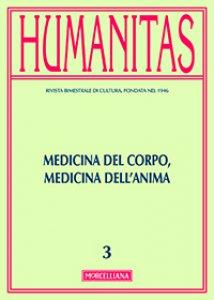 Copertina di 'Humanitas. 3/2015: Medicina del corpo, medicina dell'anima.'