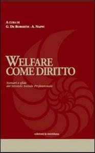 Copertina di 'Welfare come diritto'