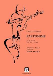 Copertina di 'Pantomime a due violini'