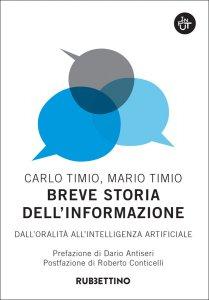 Copertina di 'Breve storia dell'informazione'