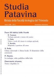 Copertina di 'Studia Patavina 2011/3'