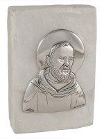 Scatola in madreperla con Padre Pio