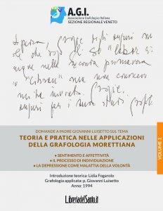 Copertina di 'Teoria e pratica nelle applicazioni della grafologia Morettiana - Vol.2'