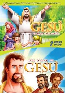 Copertina di 'Gesù. Un Regno senza confini - Nel nome di Gesù (cofanetto 2 dvd)'