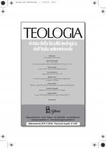 Copertina di 'Teologia 3/2018'