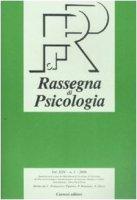 Rassegna di psicologia (2008)