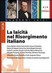Copertina di 'La laicità nel Risorgimento italiano'