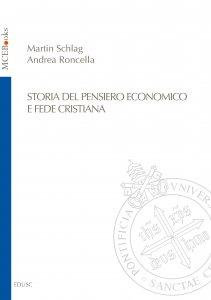 Copertina di 'Storia del pensiero economico e fede cristiana'
