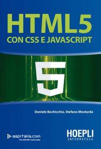 Copertina di 'HTML 5 con CSS e Javascript'