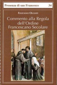 Copertina di 'Commento alla regola dell'Ordine francescano secolare'