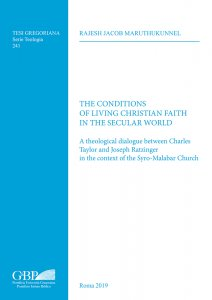 Copertina di 'The conditions of living christian faith in the secular world'