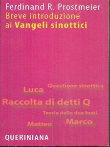 Copertina di 'Breve introduzione ai Vangeli sinottici'