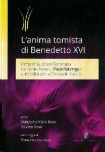Copertina di 'L' anima tomista di Benedetto XVI'