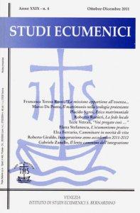 Copertina di 'Il matrimonio nella teologia protestante contemporanea. Luci ed ombre per un confronto ecumenico'