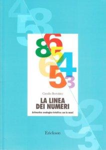 Copertina di 'La linea dei numeri. Aritmetica analogico-intuitiva con le mani'