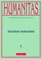Humanitas. 1/2018: Politeismi e monoteismi