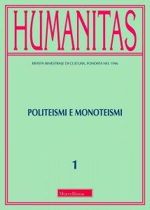 Copertina di 'Humanitas. 1/2018: Politeismi e monoteismi'