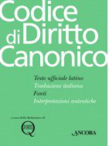 Copertina di 'Codice di diritto Canonico con aggiornamenti 2018'