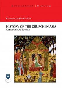 Copertina di 'History of the Church in Asia. A historical Survey'