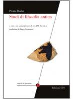 Studi di filosofia antica - Hadot Pierre
