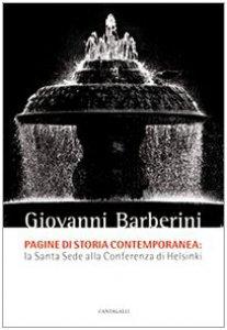 Copertina di 'Pagine di storia contemporanea. La Santa Sede alla Conferenza di Helsinki'