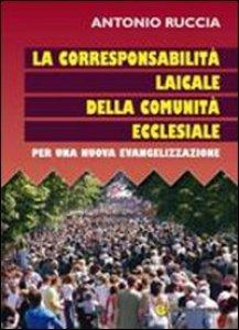Copertina di 'Corresponsione laicale della comunità ecclesiale'