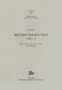 Copertina di 'Metodo terapeutico. Ediz. critica. Vol. 1-2'