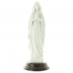 """Copertina di 'Statua in resina bianca """"Madonna di Lourdes"""" - altezza 20 cm'"""