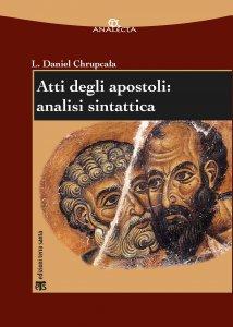 Copertina di 'Atti degli apostoli: analisi sintattica.'