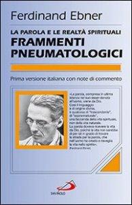 Copertina di 'Frammenti pneumatologici'