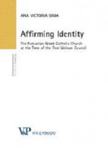 Copertina di 'Affirming identity'