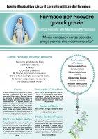 """Immagine di 'Rosario """"Infermeria dell Anima"""" Madonna Miracolosa Italiano'"""
