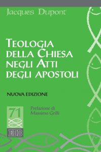 Copertina di 'Teologia della Chiesa negli Atti degli apostoli'