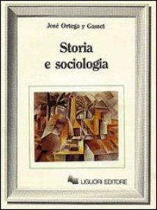 Copertina di 'Storia e sociologia'