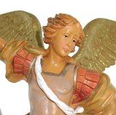 Immagine di 'Statua San Michele arcangelo dipinta a mano cm 8'