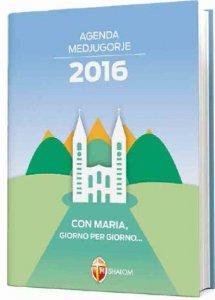 Copertina di 'Agenda Shalom Medjugorje 2016'
