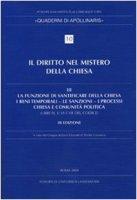 Diritto nel mistero della Chiesa - Gruppo italiano docenti di diritto canonico