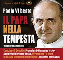Copertina di 'Paolo VI Beato - il papa nella tempesta'