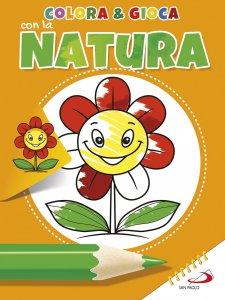 Copertina di 'Colora e gioca con la natura'