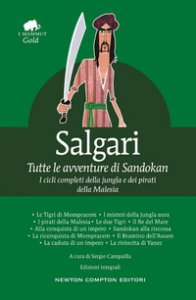 Copertina di 'Tutte le avventure di Sandokan. Ediz. integrale'