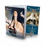 Libretto con Rosario Santa Teresa d Avila - italiano