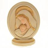 Ovale Madonna col bambino (15,5 x 12,5)