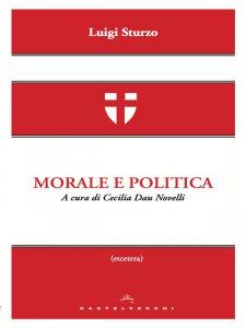 Copertina di 'Morale e politica.'