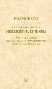 Copertina di 'Lettera apostolica Misericordia et misera'