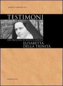 Copertina di 'Testimoni - Elisabetta della Trinità'