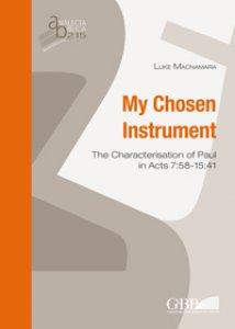 Copertina di 'My chosen instrument'